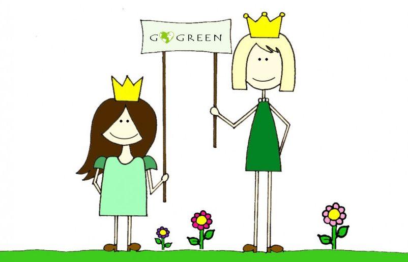 Die Amiga Prinzessinnen im Nachhaltigkeitswahn