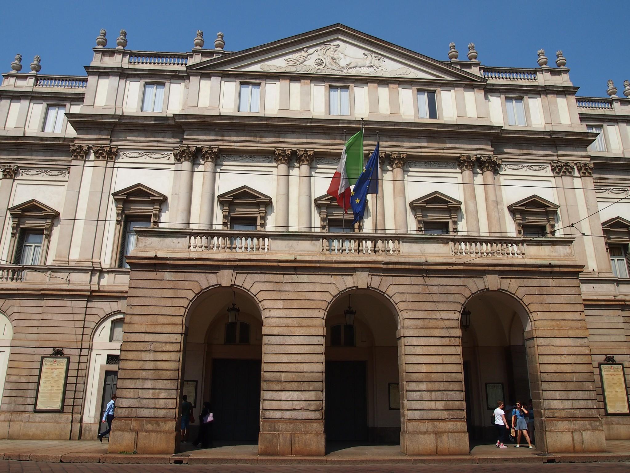 scala, oper, mailand, milano, opernhausm sightseeing