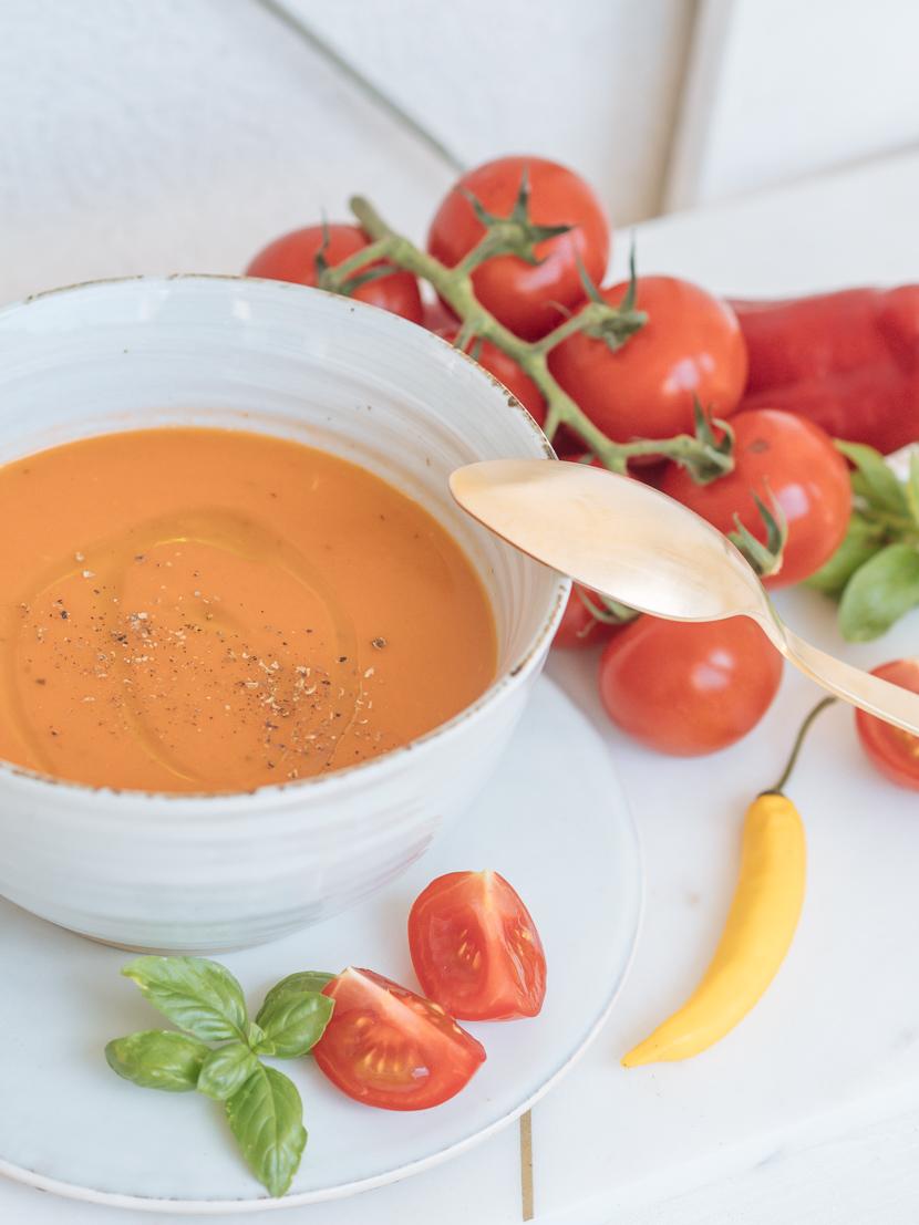 Gazpacho - kalte Gemüsesuppe für heiße Sommertage 4