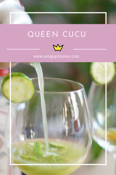 queen cucu cocktail, gurke, www.amigaprincess.com