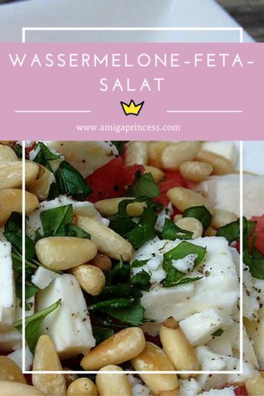 Wassermelone–Feta–Salat, www.amigaprincess.com