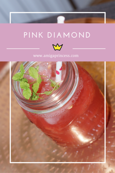 pink diamond cocktail, www.amigaprincess.com