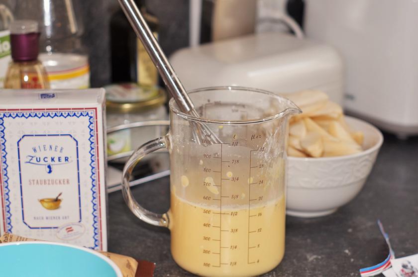 Vanilleguss für amiga birnenkuchen