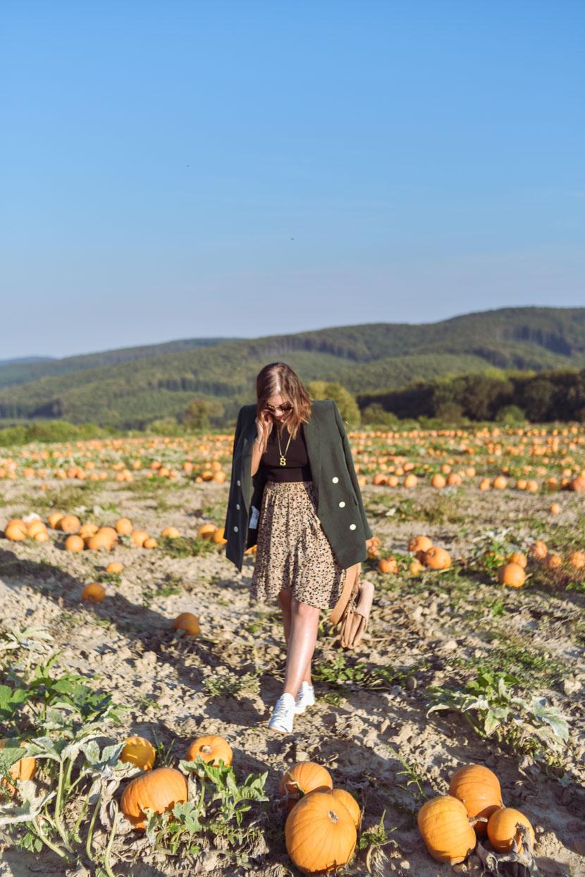 10 Gründe den Herbst zu lieben inkl. Herbstoutfit mit Leo Print 3