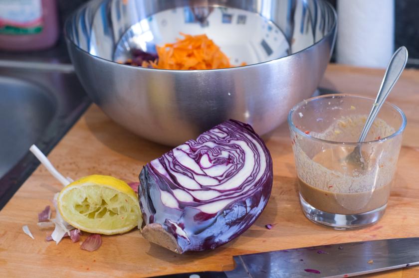 Zutaten für den Steaksalat alla Madleine Shaw