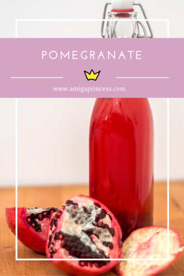 granatapfel, pomegranate, www.amigaprincess.com