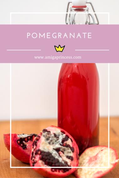 granatapfel, pomegranate, www.amigaprincess.com