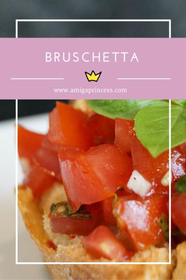 bruschetta mit tomaten, www.amigaprincess.com