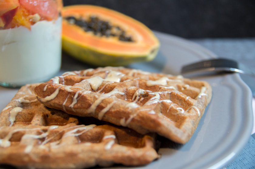 vegan waffles, www.amigaprincess.com