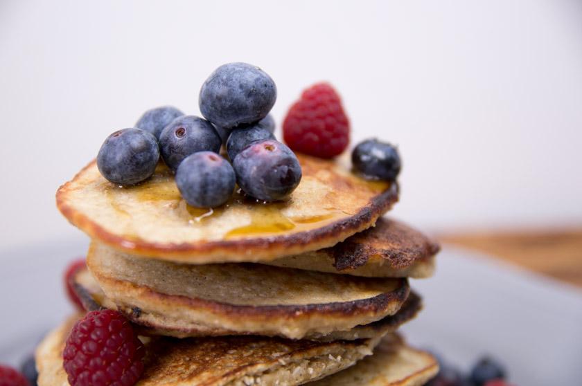 kokos banane pancakes, www.amigaprincess.com