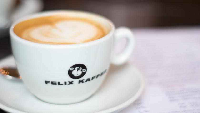 cafe josefine wien frühstück, felix kaffee, cappuccino