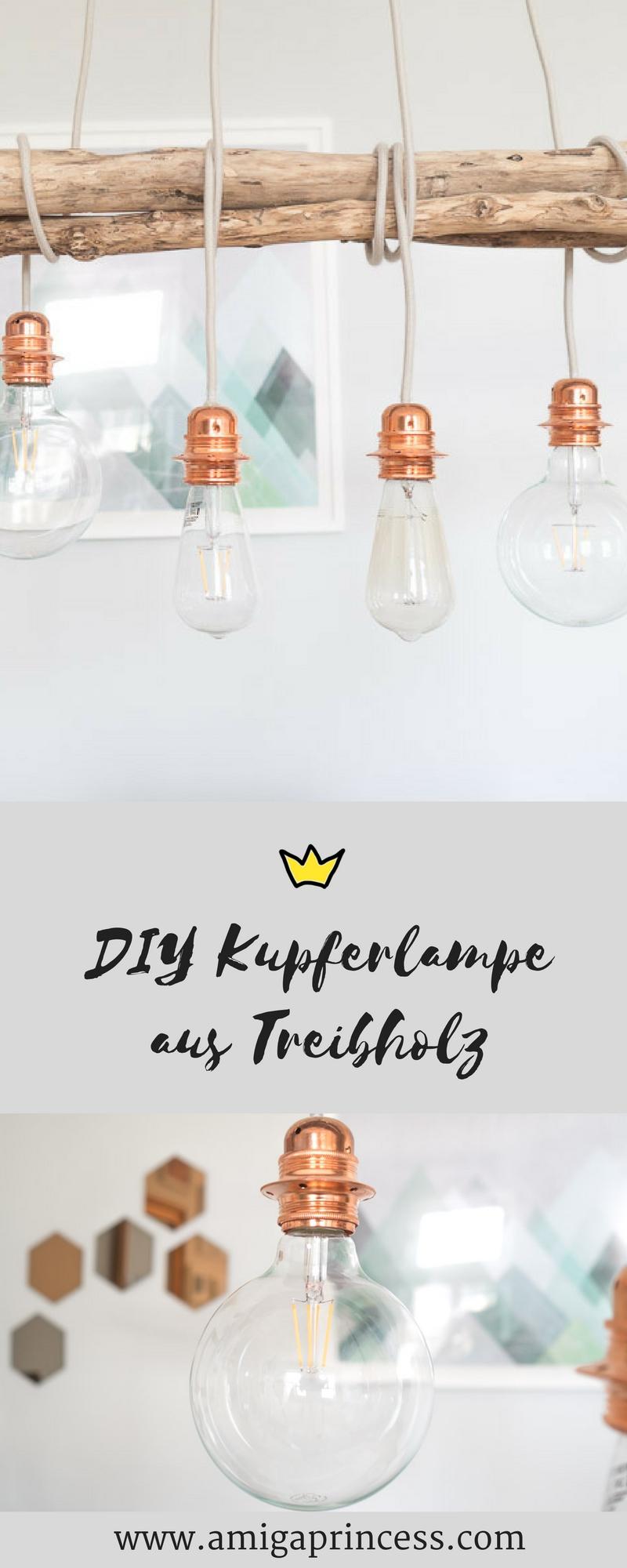 Diy Kupfer Lampe Happy Lifestyle Blog