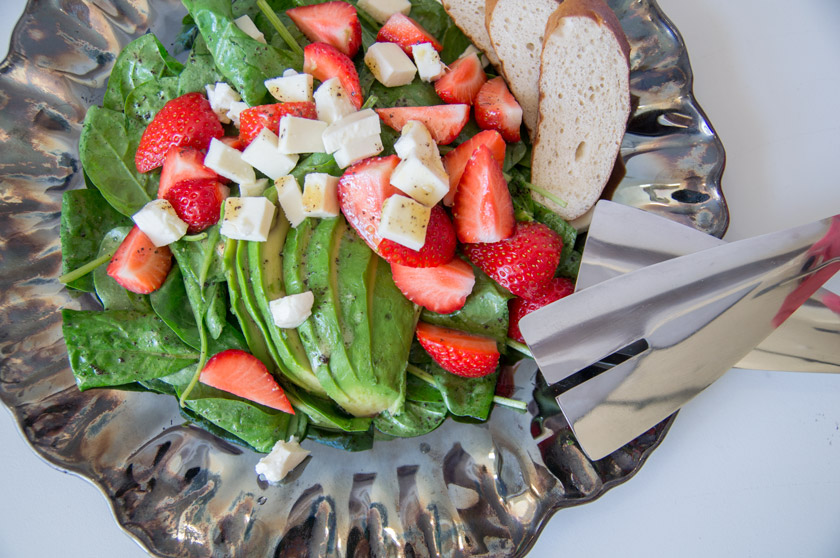 dressing f r salat mit erdbeeren. Black Bedroom Furniture Sets. Home Design Ideas