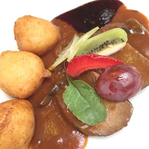 Thermal Restaurant, Ein Wochenende in Bük - Wellness, Kulinarik und Sport, Wild, ungarische Küche
