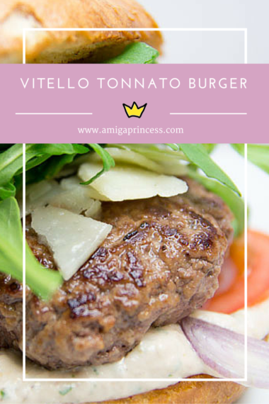 Vitello tonnato burger rezept #recipe #burger #tonno #italien #amigaprincess