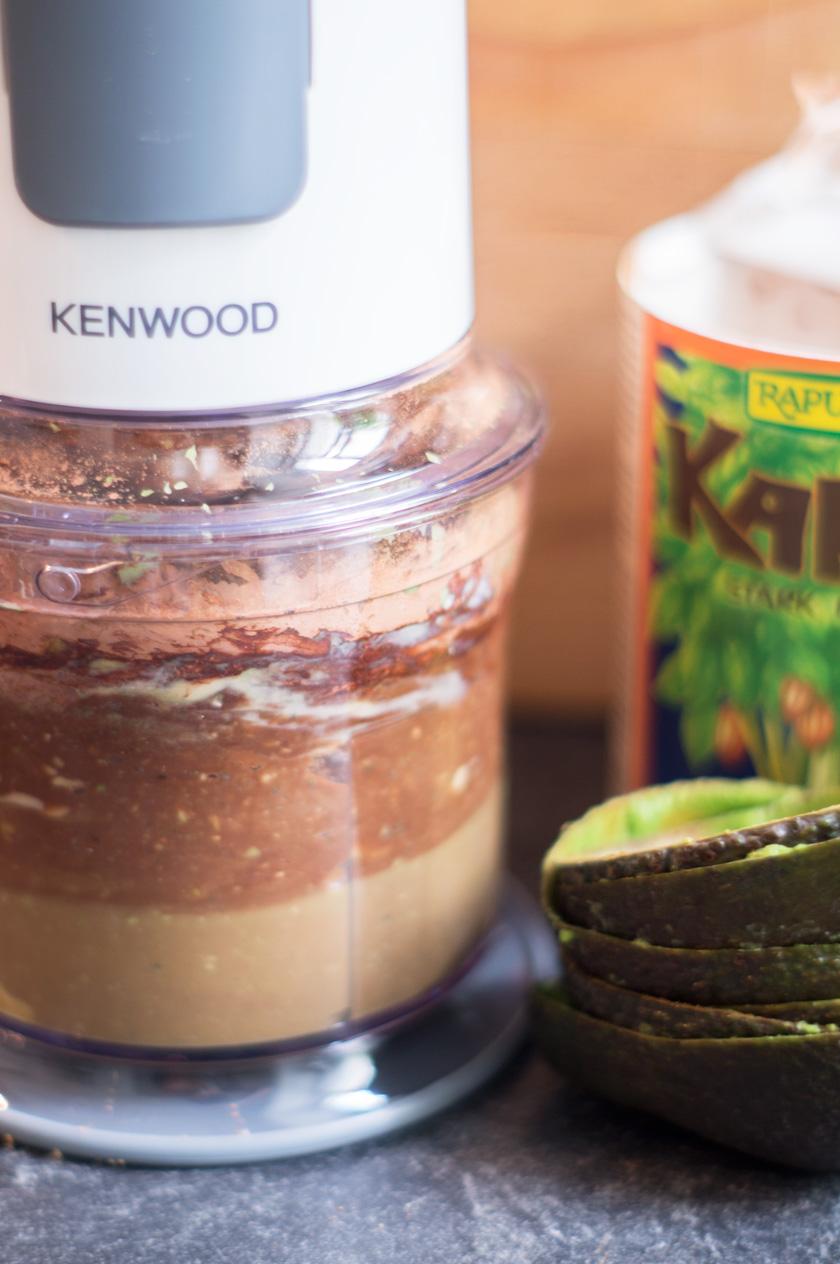 healthy brownies #kenwood #avocado #kokos #food #recipe #rezept #vegan #healthy #dessert #sweet