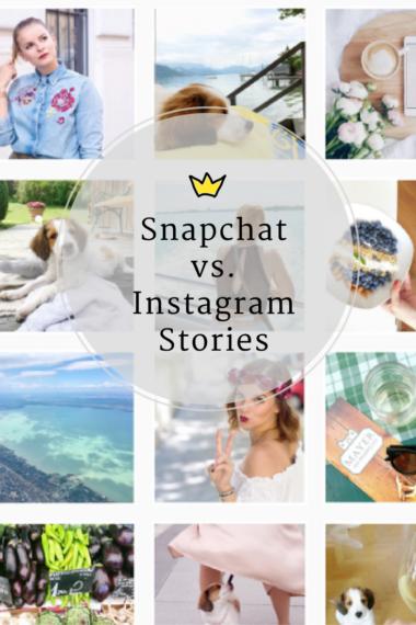 snapchat vs instagram stories #fazit #vergleich #meinung #erfahrung #amigaprincess