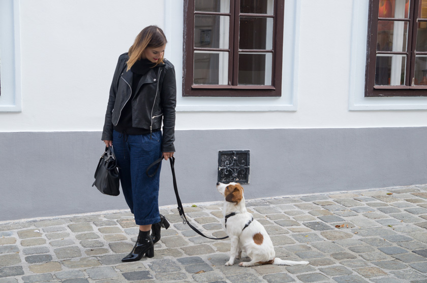 1 Country - 7 Looks: Blockabsatz #schuhtrend #trend #herbst #autumn #blockabsatz #fashion #outfit #fashionblogger #amigaprincess #black #denim #culotte #streetstyle #lack