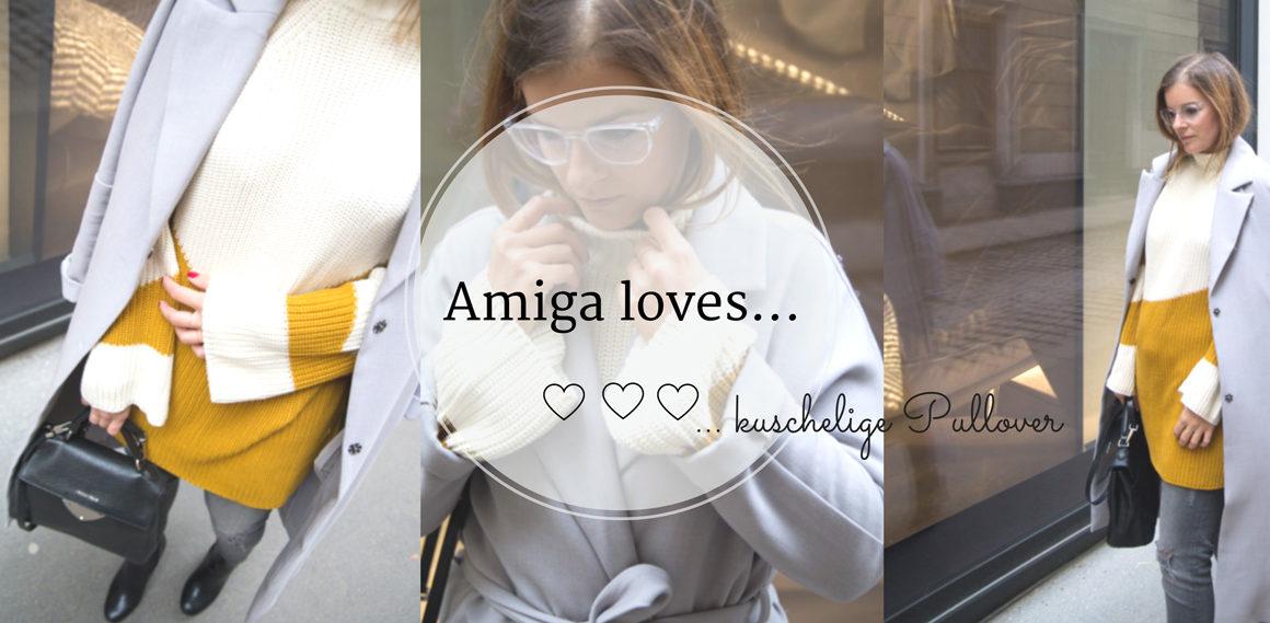 Amiga loves: kuschelige Pullover #oversize #turtleneck #senfgelb #trend #rollkragen #autumn #fall #cozy #sweater #amigaprincess #streetstyle
