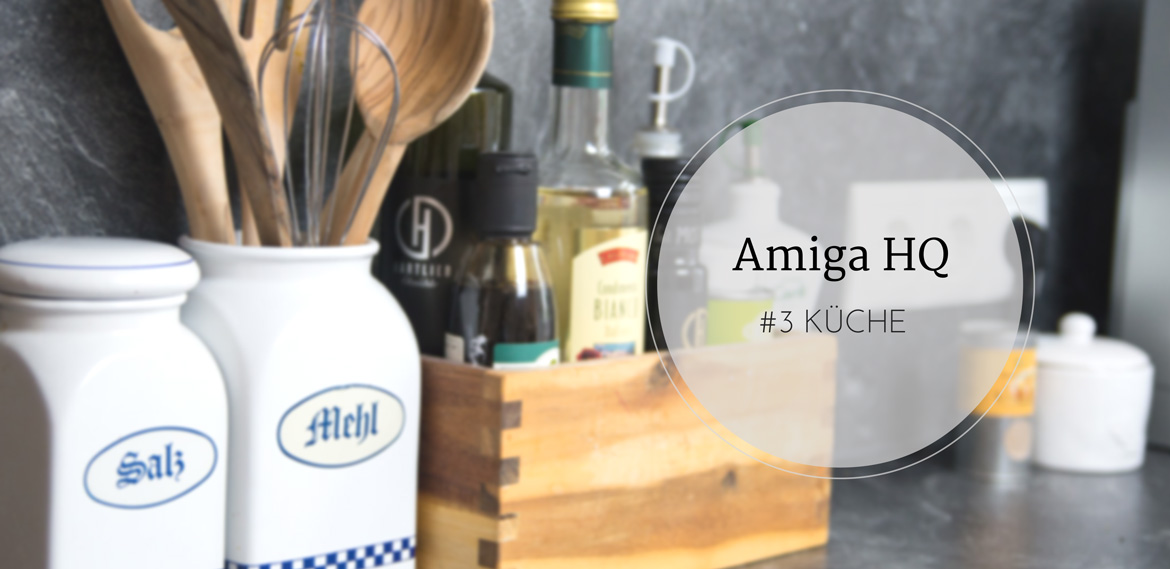 amiga hq: kueche #interior #home #kitchen #wohnung #homesweethome #inspo #amigaprincess