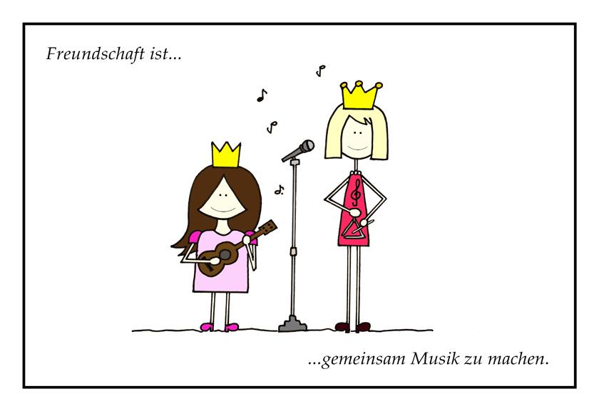 Freundschaft ist ... gemeinsam Musik zu machen! 1