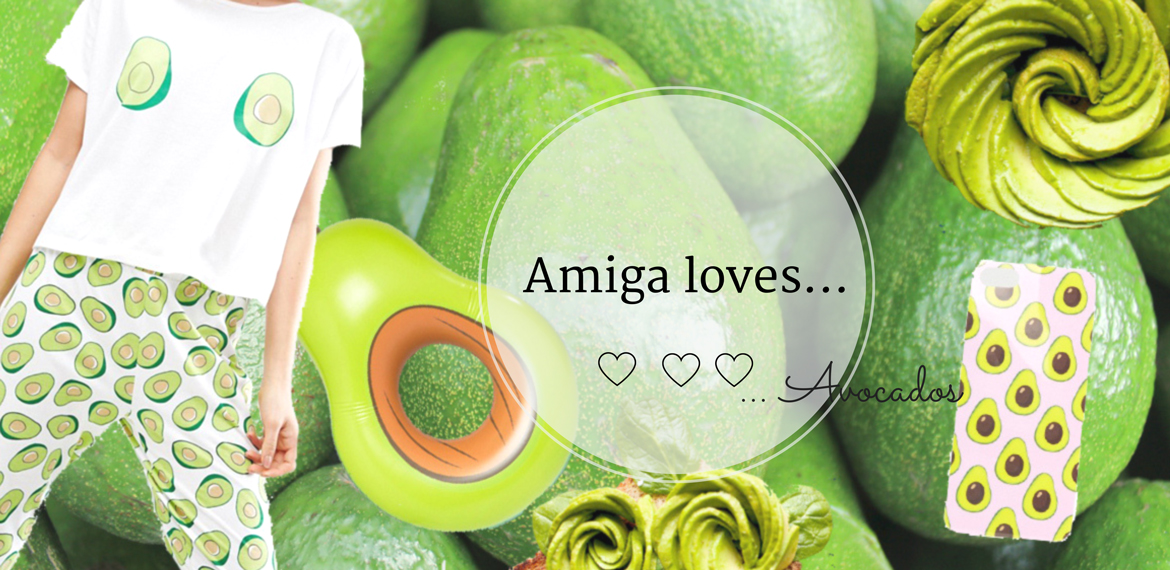 amiga loves avocado everywhere amigaprincess. Black Bedroom Furniture Sets. Home Design Ideas