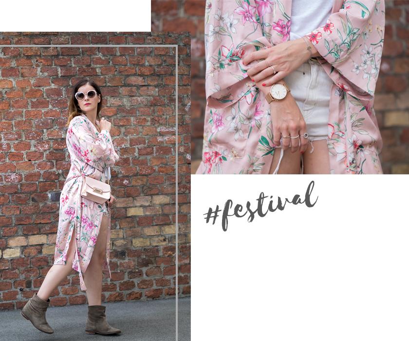 #ootw: Festival Look mit rosa Kimono* 5