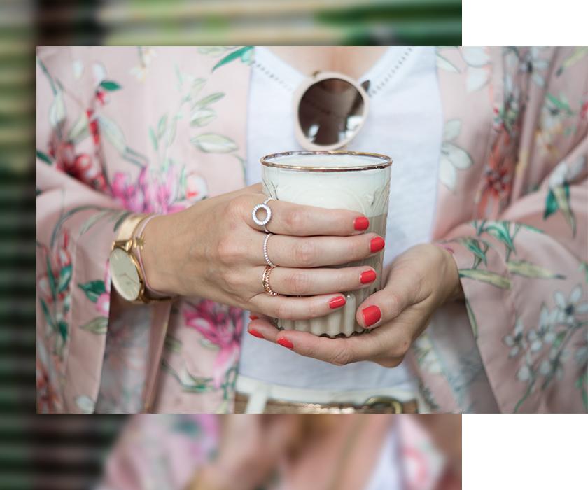 #ootw: Festival Look mit rosa Kimono* 8