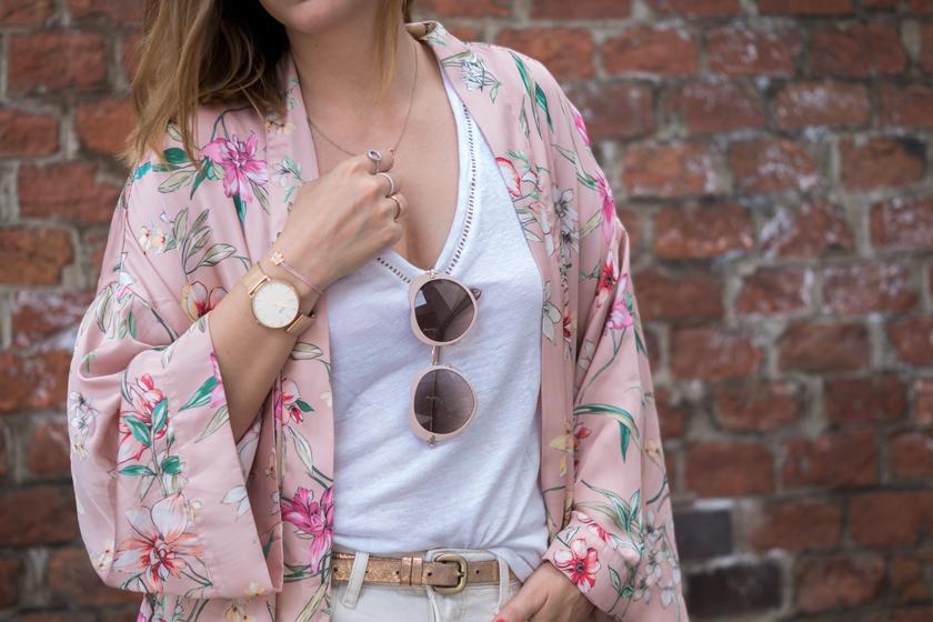 #ootw: Festival Look mit rosa Kimono* 9