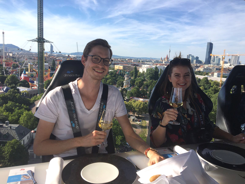 Dinner in the Sky* - ein Hochgenuss 12