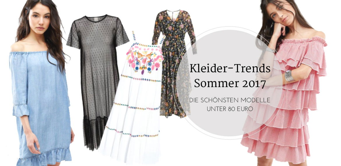 Die schönsten Sommerkleider unter 80 Euro, dress, trend, ss2017, fashion inspo, inspiration, summer, amigaprincess
