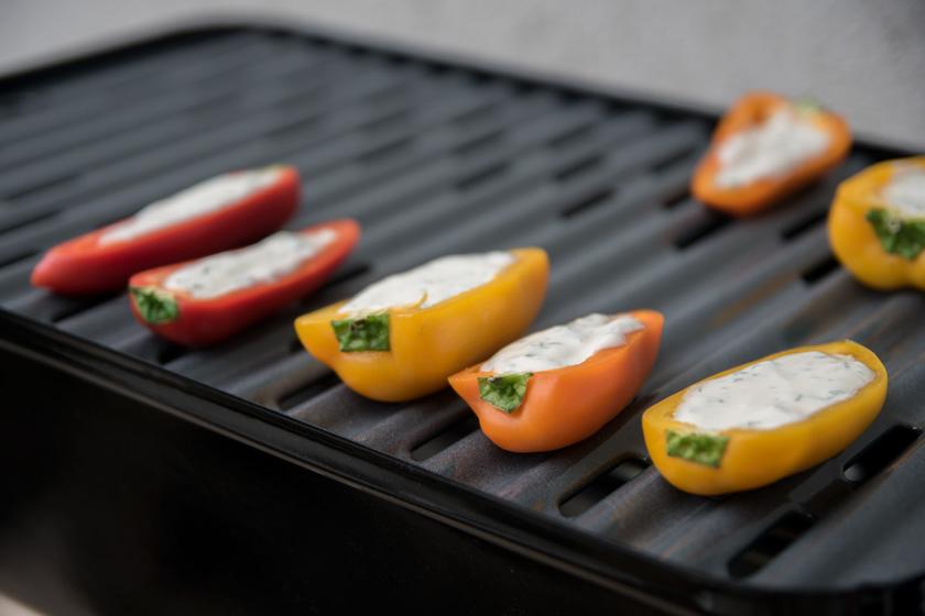 vorspeisen vom grill, vegetarisch, veggie, bacon, fleisch, caprese, bbq, starters, appetizer, weber grill, recipe , rezept
