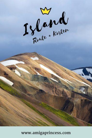 Island wir kommen - geplante Route + Kosten 6