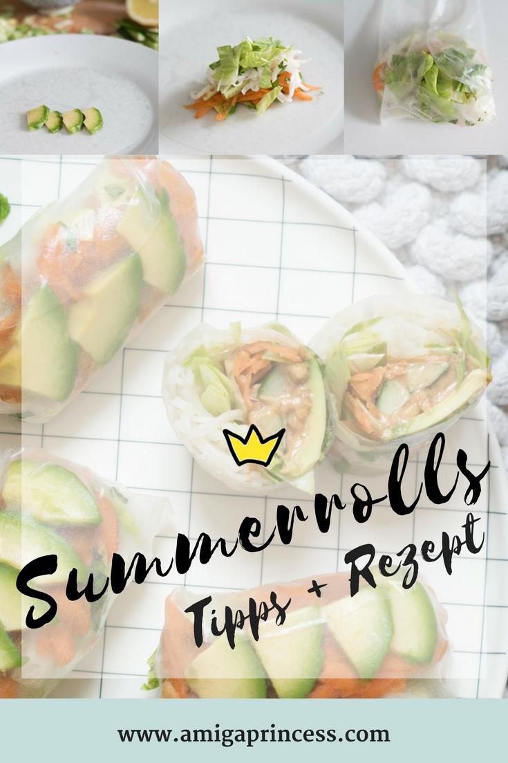 Homemade Summerolls mit Erdnuss-Sauce 4