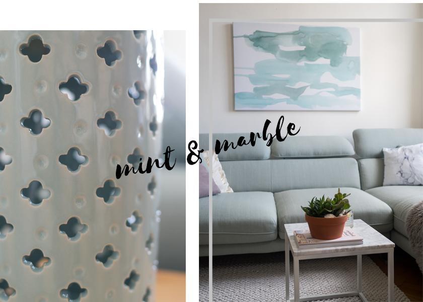 Wohnzimmer Update* - Hello mint & marble 21