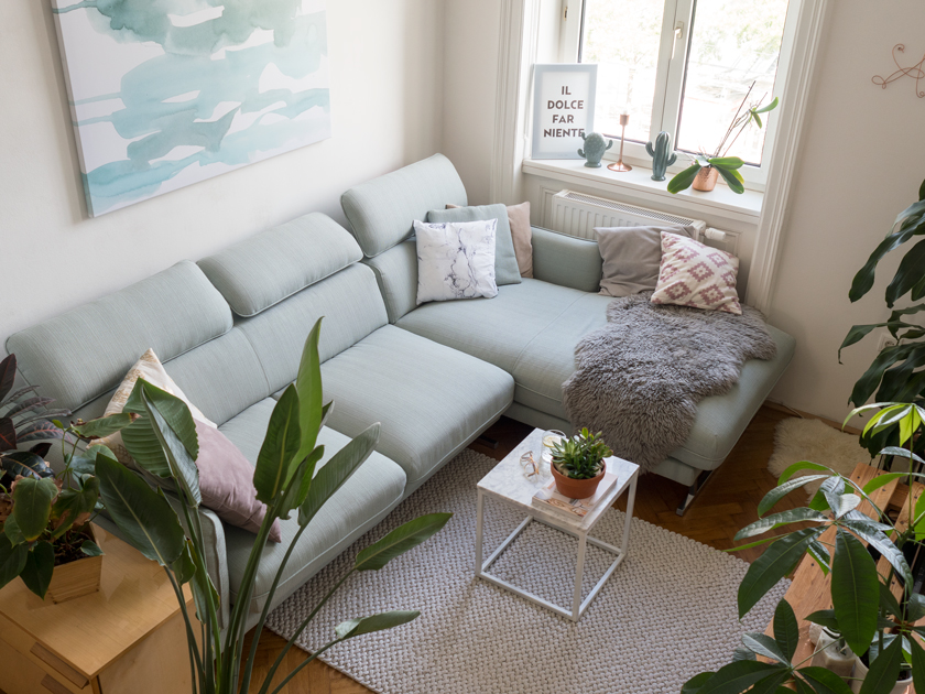 Wohnzimmer Oesterreich Style : Wohnzimmer update u hello mint marble