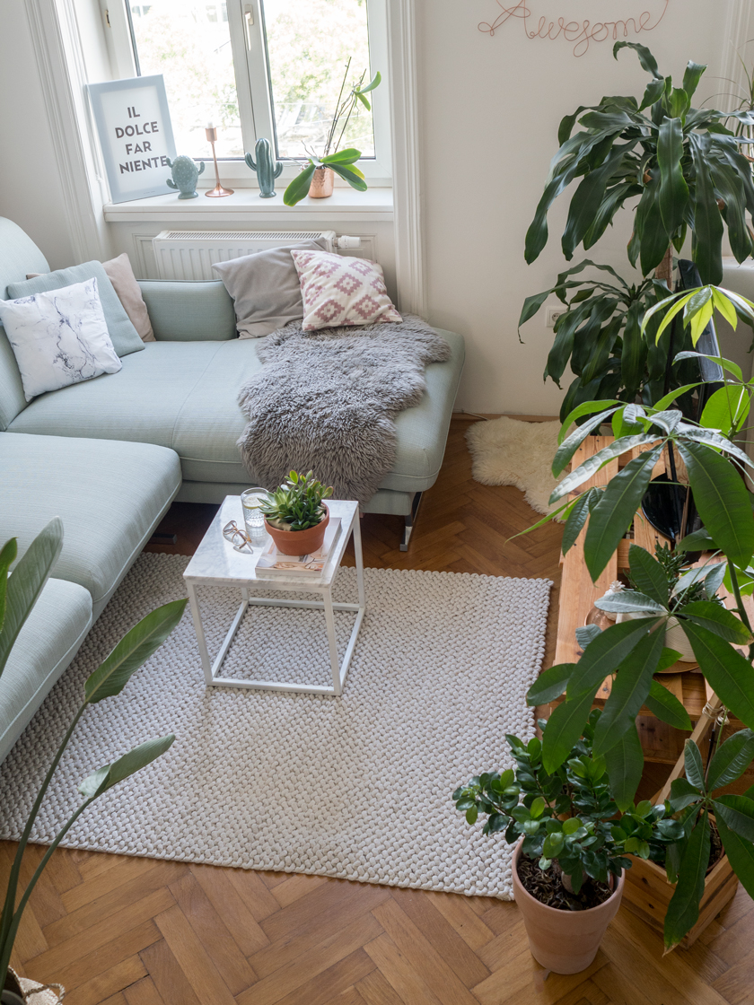 Wohnzimmer Update* - Hello mint & marble 6