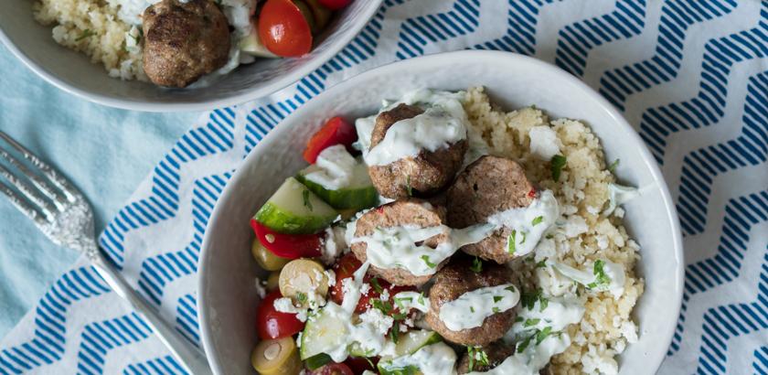 Griechische Foodbowl 1
