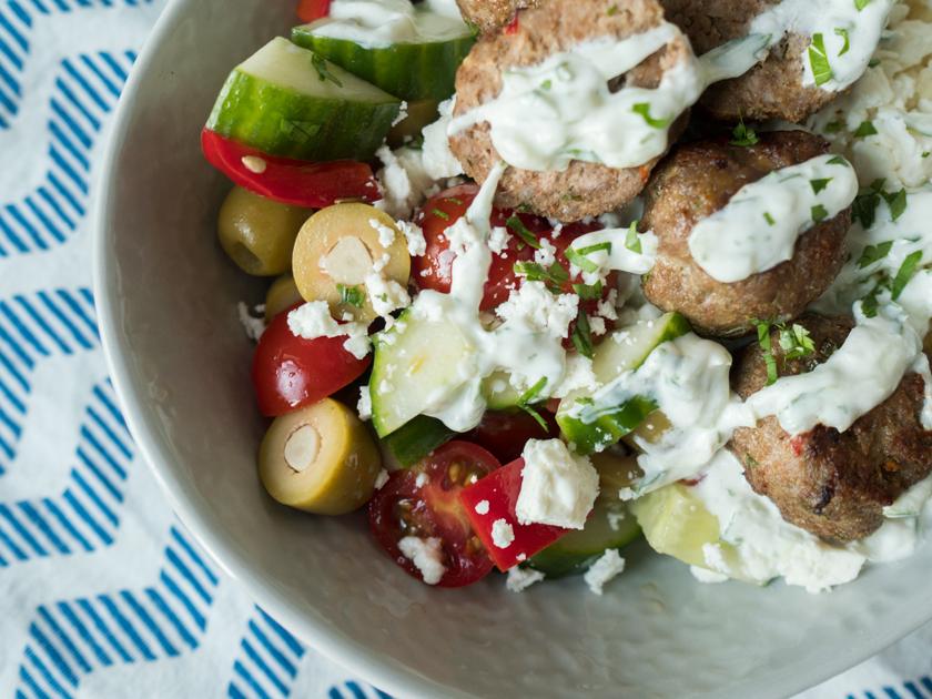 Griechische Foodbowl 2