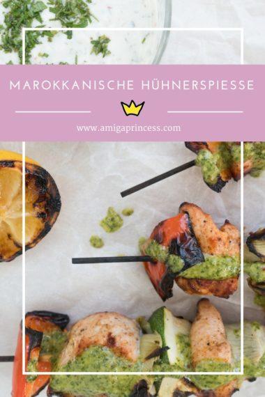 Marokkanische Hühnerspieße mit Minzdip #sogrillthofer* 8