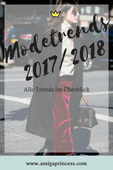 Herbst-Trends 2017 - alle Modetrends auf einen Blick 3