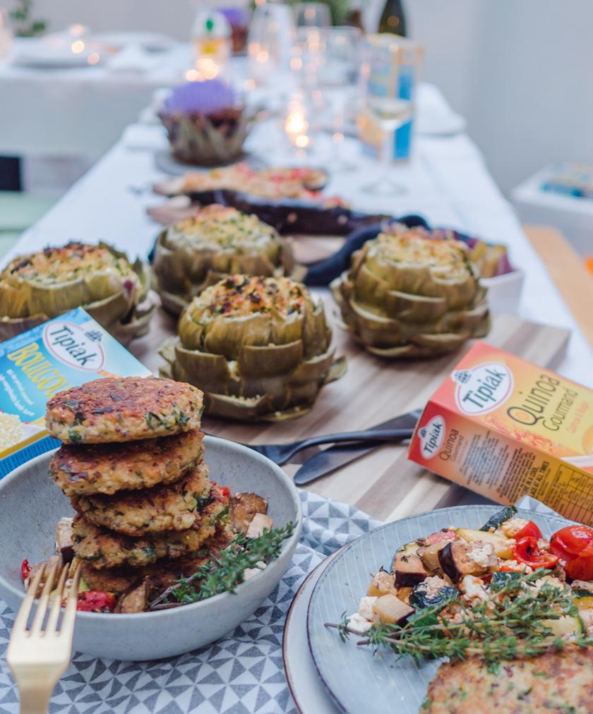 Tipiak Kochabend* - gefüllte Artischocken mit Bulgur 17
