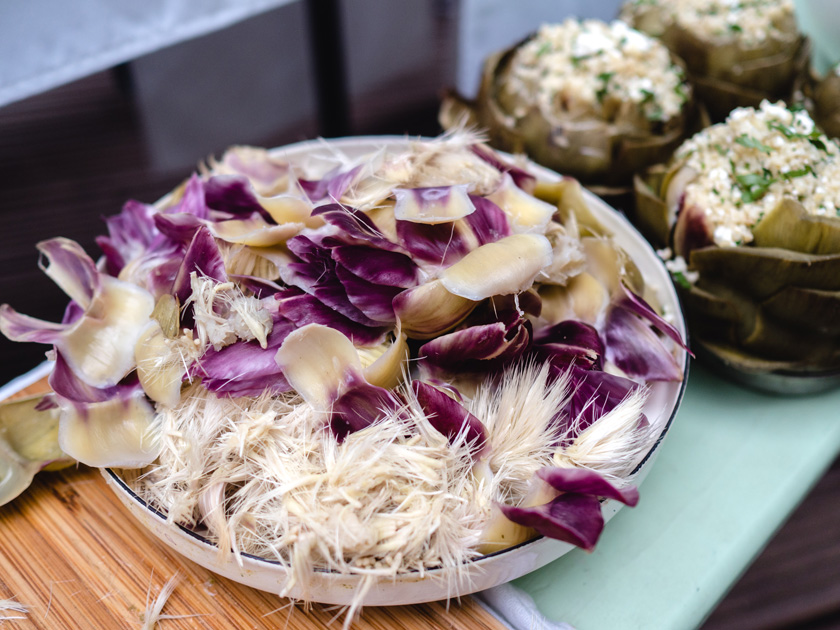 Tipiak Kochabend* - gefüllte Artischocken mit Bulgur 11