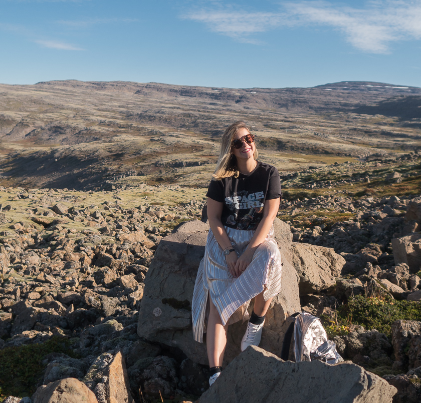 #ootw: Space Girl in Iceland 1