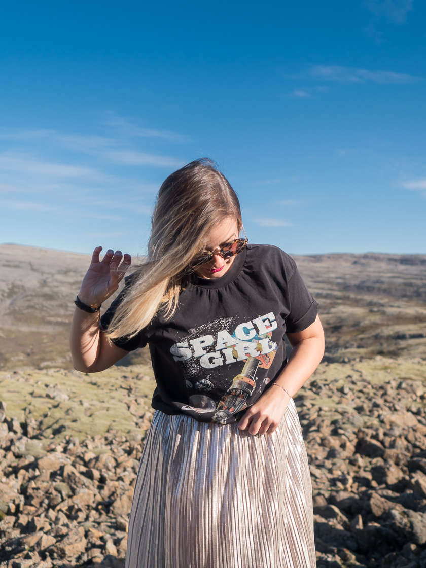 #ootw: Space Girl in Iceland 10