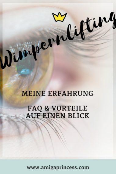 Wimpernlifting - Erfahrung, Vorteile und FAQ 1