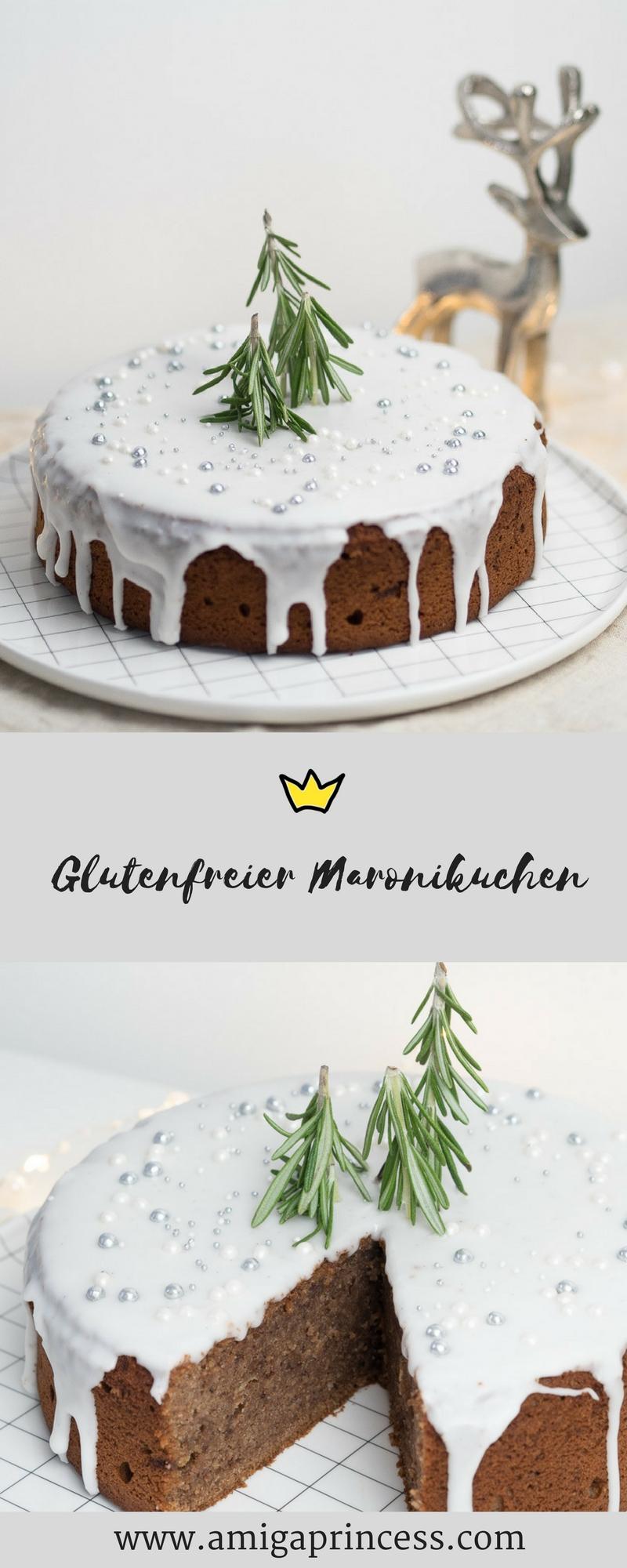 Glutenfreier Maronikuchen 11