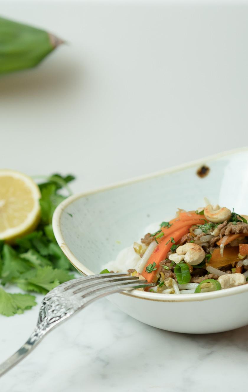 Reisnudeln mit Rindfleisch - Thai Style 7