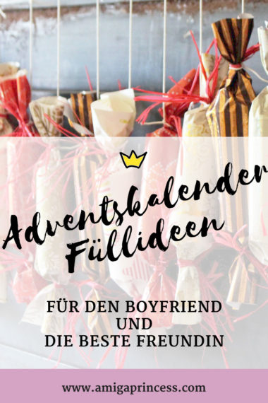 adventskalender f llideen f r den boyfriend und die beste. Black Bedroom Furniture Sets. Home Design Ideas