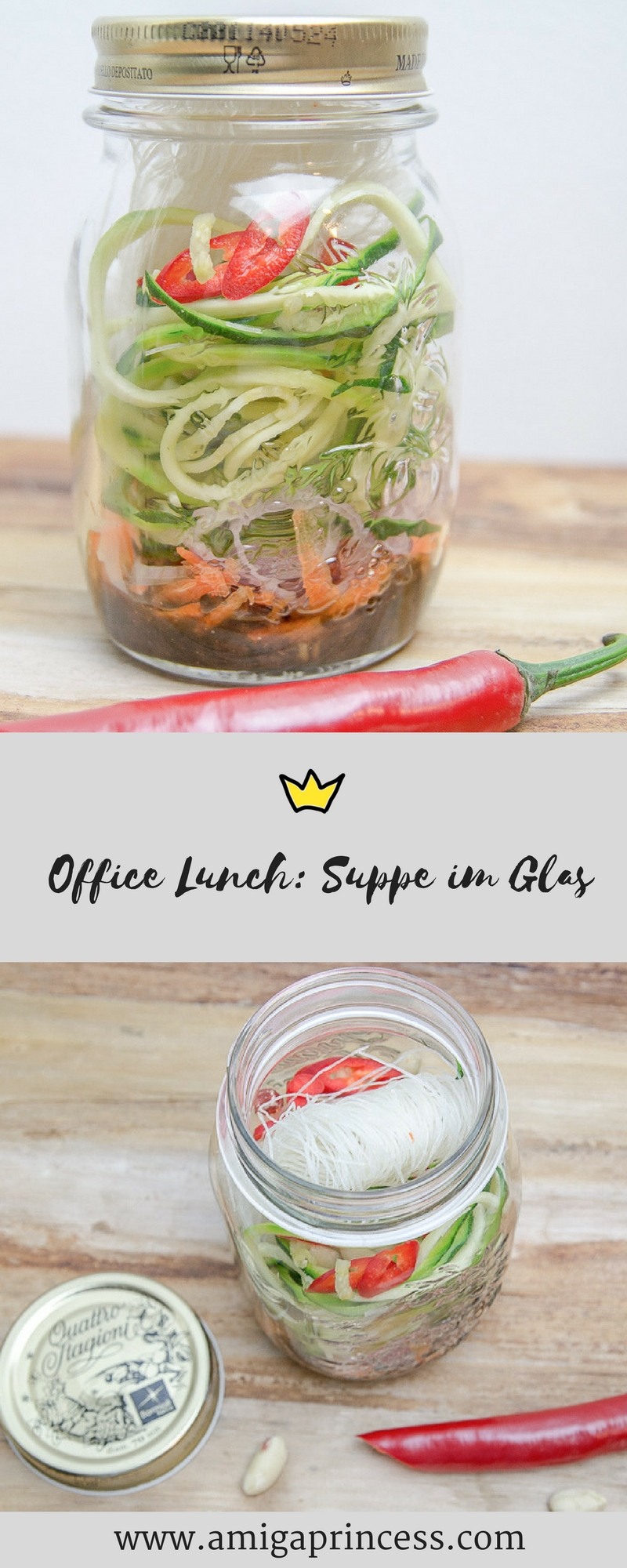 Suppe im Glas - easy office lunch 8
